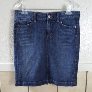 Citizens of Humanity Novak #358 pencil jean skirt
